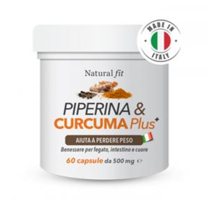 Natural Fit Piperine & Curcuma Plus